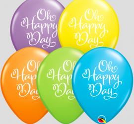 Oh Happy Day - Latexballon in wunderschönen Farben erhältlich!
