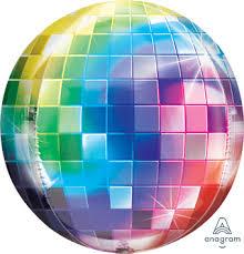 ORBZDisco - runder Ballon in Discooptik